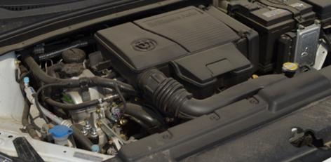 5t版本发动机型号为bm15lc,最大功率110kw,可在2000-45000rpm区间内